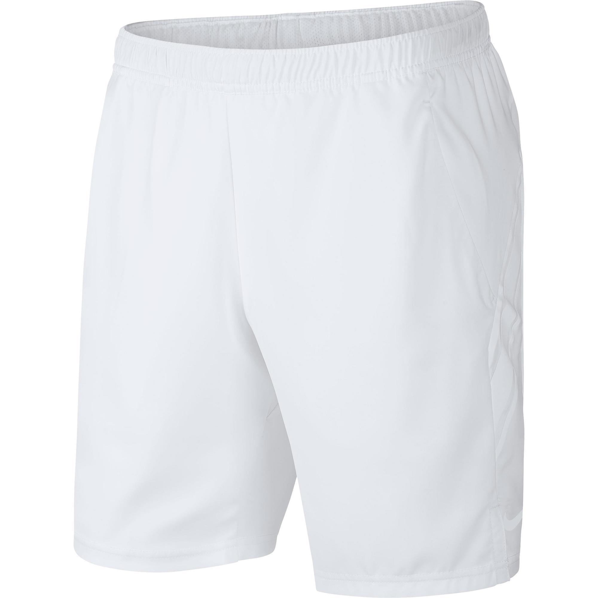 Tennis-Shorts Herren Dri Fit weiß | Sportbekleidung > Sporthosen > Tennisshorts | Weiß | Ab | Nike