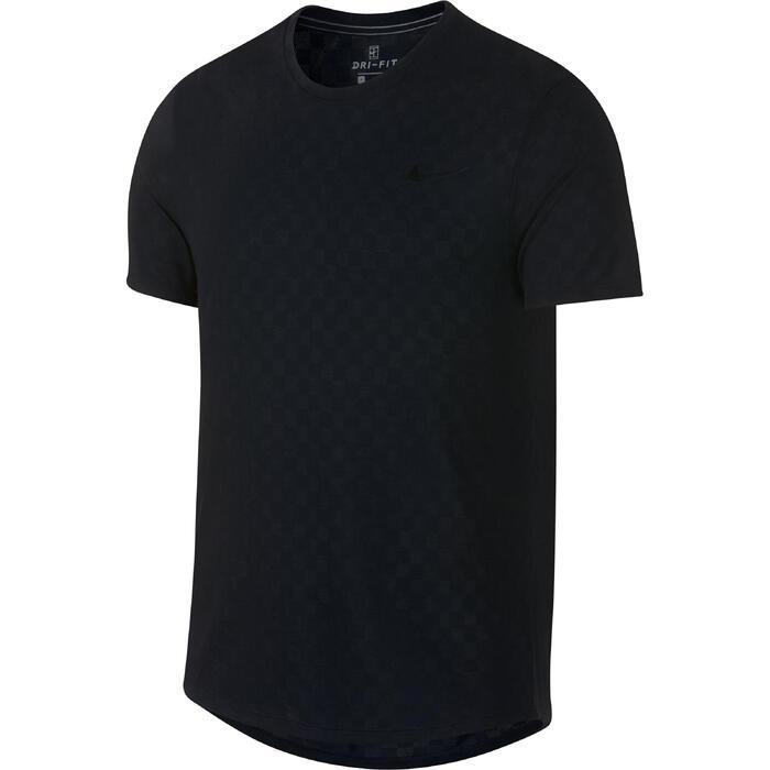 T-Shirt Challenger Crew Tennisshirt Herren schwarz