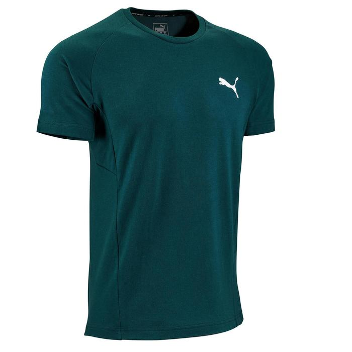 T-Shirt Puma Active 2 500 Pilates Gym douce homme vert