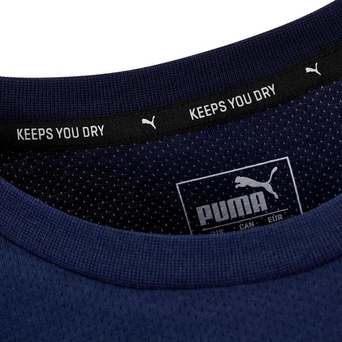 T-shirt voor gym Puma Active 2 500 lichte gym pilates heren blauw
