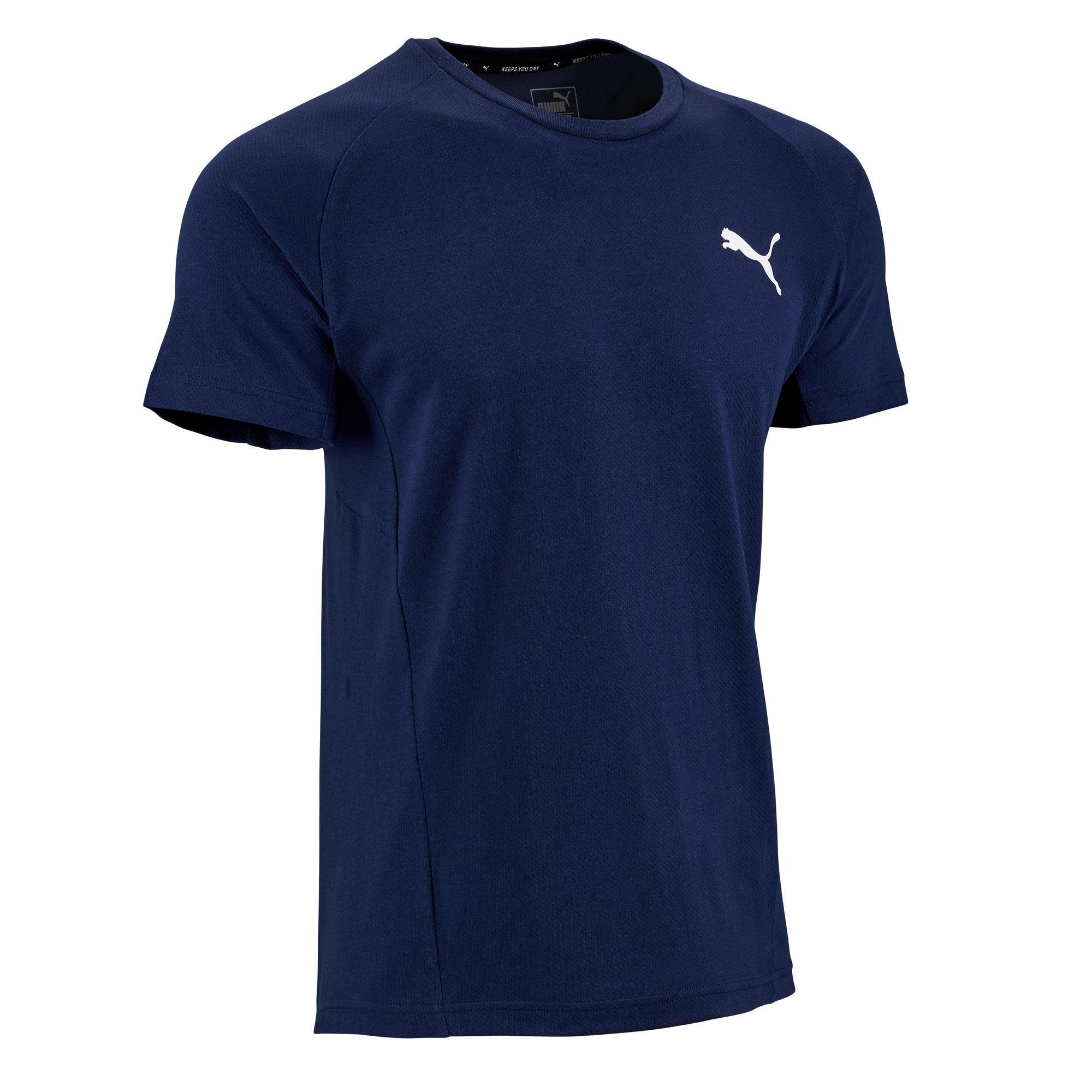 T-Shirt 2.500 Pilates sanfte Gymnastik Herren blau | Sportbekleidung > Sportshirts > Poloshirts | Blau | Puma
