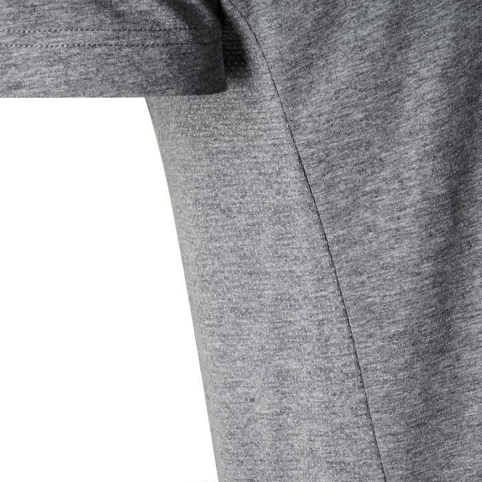T-shirt voor gym Puma Active 1 500 lichte gym pilates heren grijs