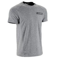 T-Shirt 1.500 Pilates sanfte Gym Herren grau