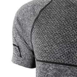 PUMA T-Shirt Seamless Fitness Cardio Herren grau