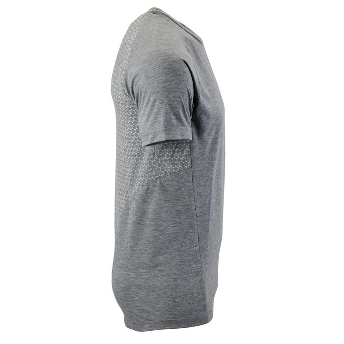 T-shirt voor heren Puma Evostripe 500 lichte gym pilates grijs
