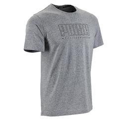 71a348be7 Camiseta Manga Corta Gimnasia Pilates Puma SS19 Hombre Gris
