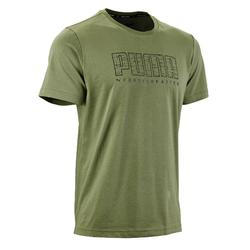 T-Shirt Puma Summer 100 Pilates Gym douce homme vert