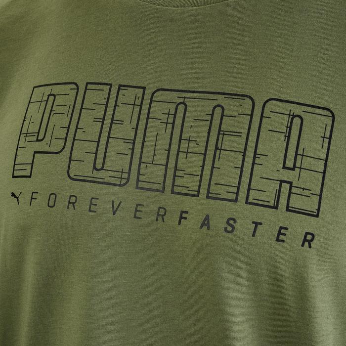 T-shirt Puma Summer 100 lichte gym pilates heren groen