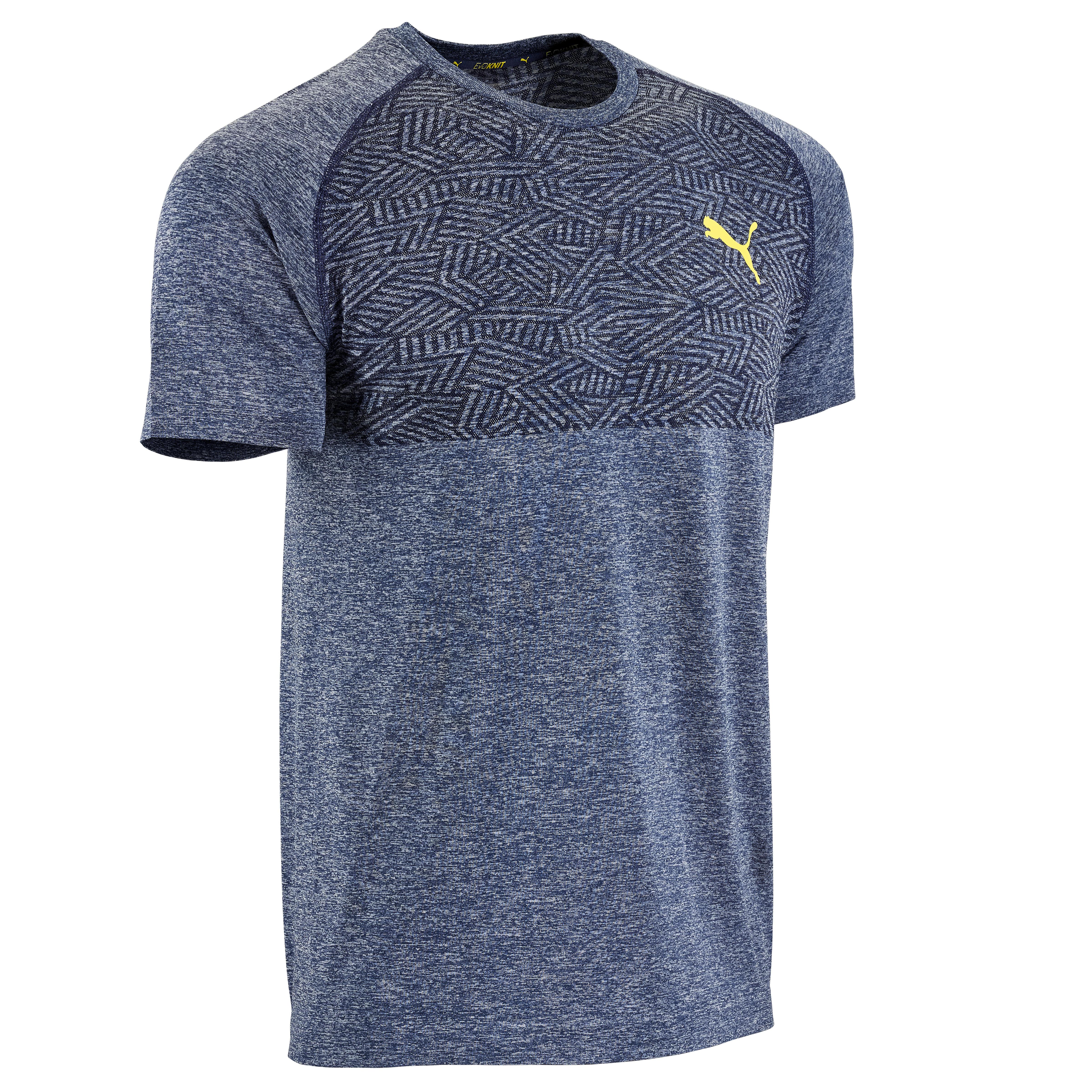 Puma Cardiofitness T-shirt heren Puma seamless blauw