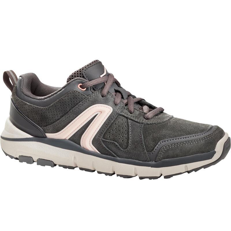 HW 540 Women's Fitness Walking Shoes - Dark Grey Leather