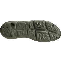 Zapatillas de Marcha Deportiva Newfeel PW 140 mujer caqui y coral