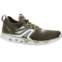 PW 500 Fresh Men's Fitness Walking Shoes - Khaki Green