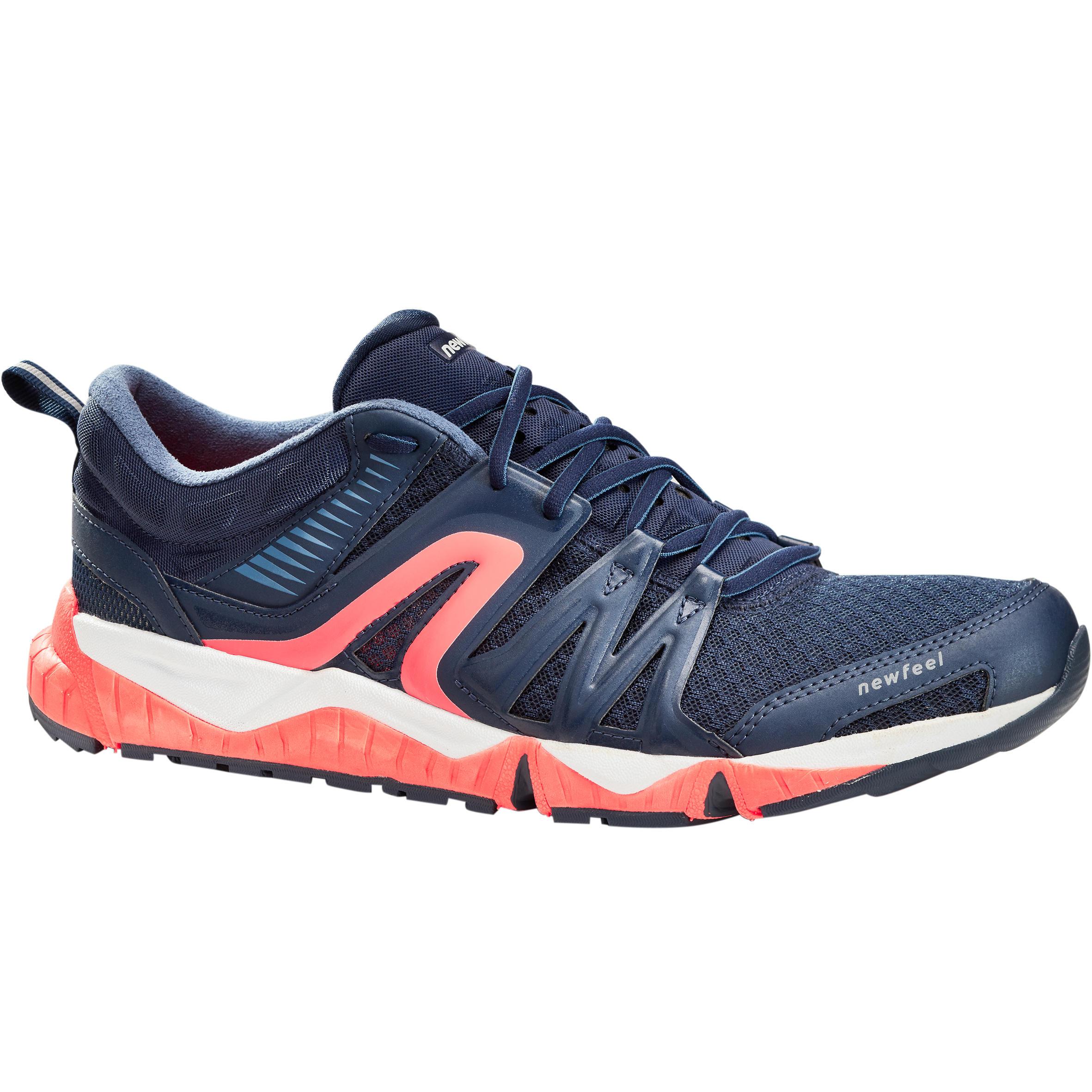 Newfeel Herensneakers voor sportief wandelen PW 900 Propulse Motion blauw