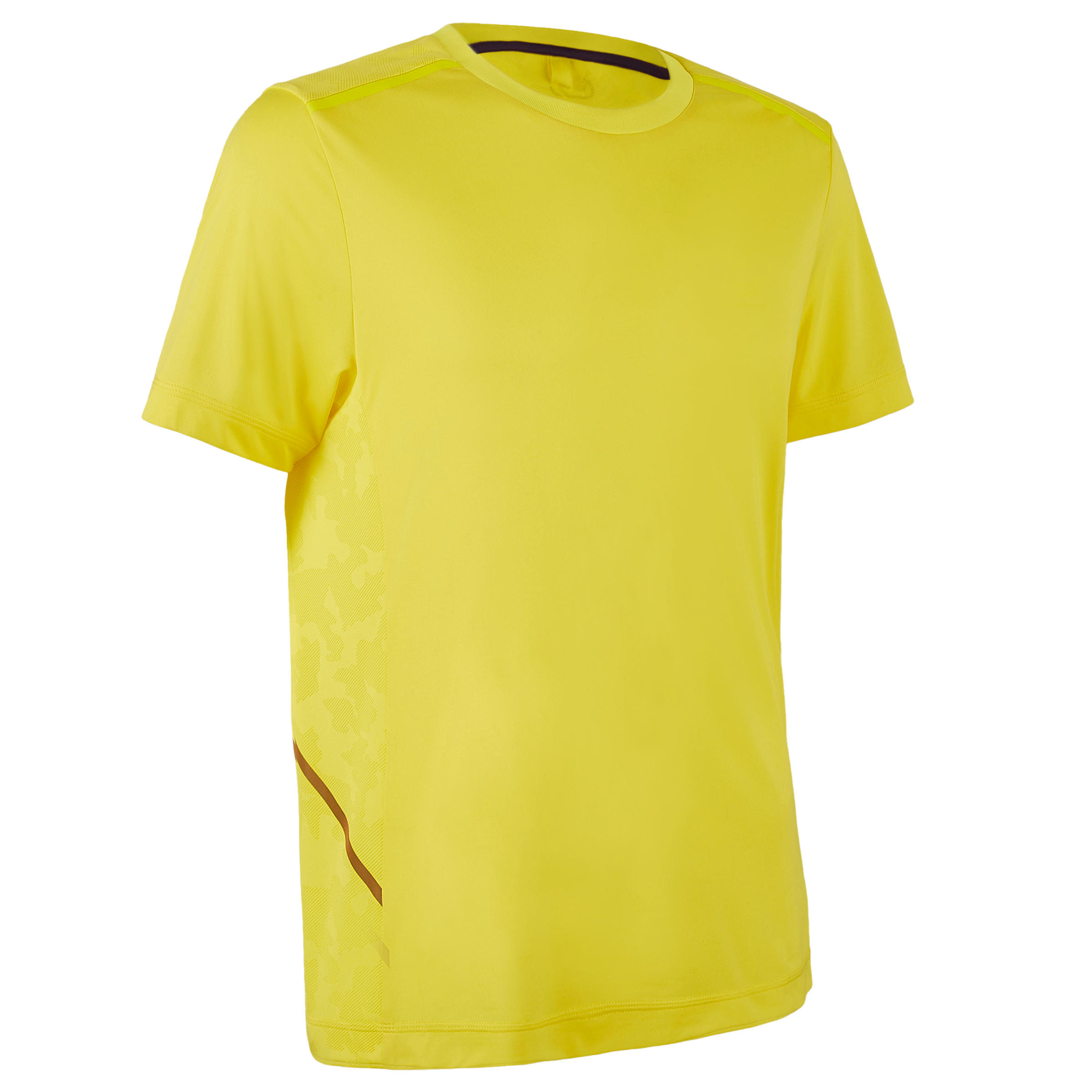 CAMISETA DE RUNNING PARA HOMBRE RUN DRY+ BREATHE AMARILLA