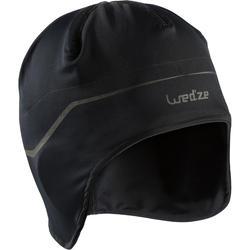 Skimuts voor onder helm voor kinderen zwart