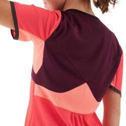T-Shirt Wandern MH550 Kinder violett