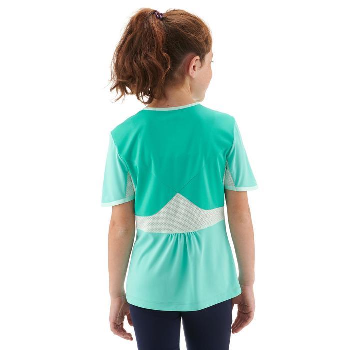 Wandelshirt voor kinderen MH550 turquoise