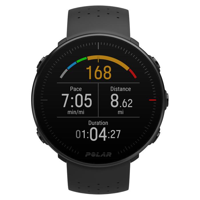 GPS-Multisportuhr VANTAGEM schwarz