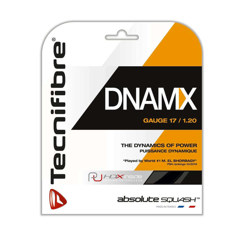 TEST SQUASH RACKETS Squash - DNAMX1.2 Strings TECNIFIBRE - Squash Accessories