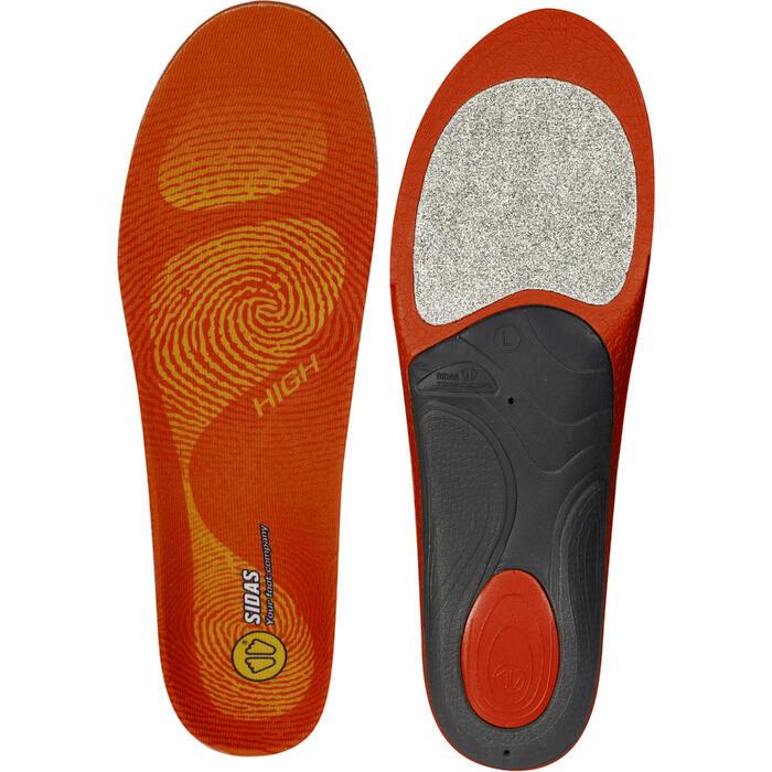 Inlegzolen skischoenen voor hoge voetholtes