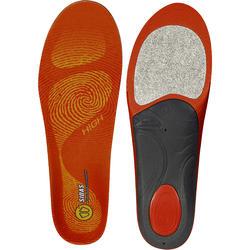 Semelles chaussures de ski pour voûtes plantaires hautes