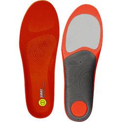 Inlegzolen skischoenen voor lage voetholtes