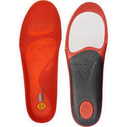 Inlegzolen skischoenen voor gemiddelde voetholtes