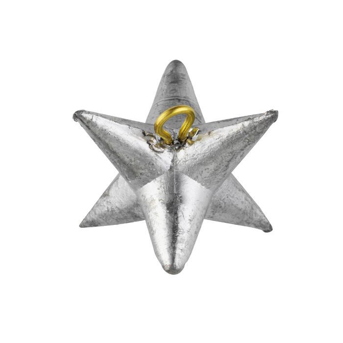 Plomb de pêche en surfcasting étoile x2