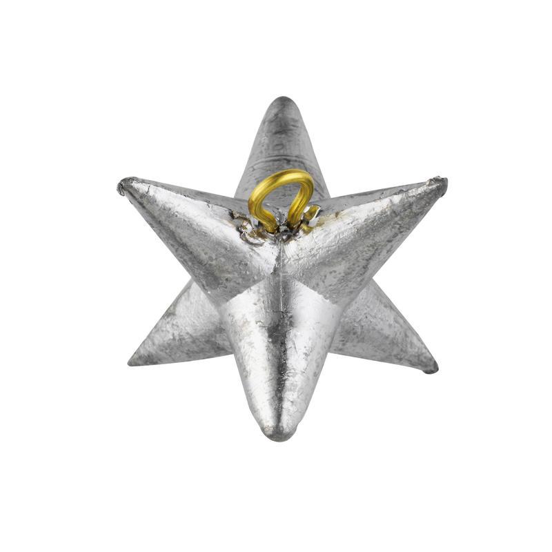 Zvaigznes formas atsvars makšķerēšanai jūrā, 2 gab.