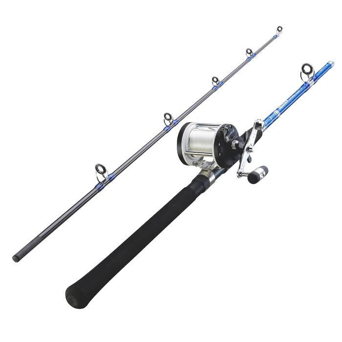 Ensemble pêche à la traine SET GAME 20 LBS ESSENTIEL
