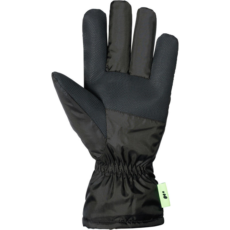 FIRST HEAT ADULT SKI GLOVES - BLACK