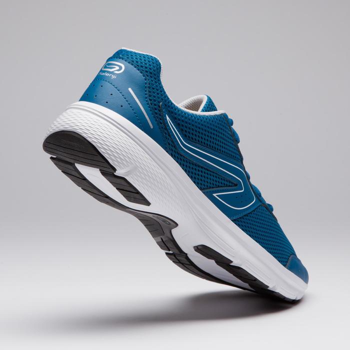 Zapatillas Running Kalenji Run Cushion Hombre Azul Prusia