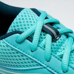 Tenis de Running Kalenji Run Cushion Mujer Verde Turquesa