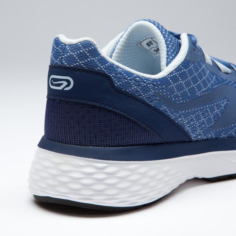 รองเท้าวิ่งจ็อกกิ้งสำหรับผู้หญิงรุ่น RUN SUPPORT (สีฟ้าอ่อน)