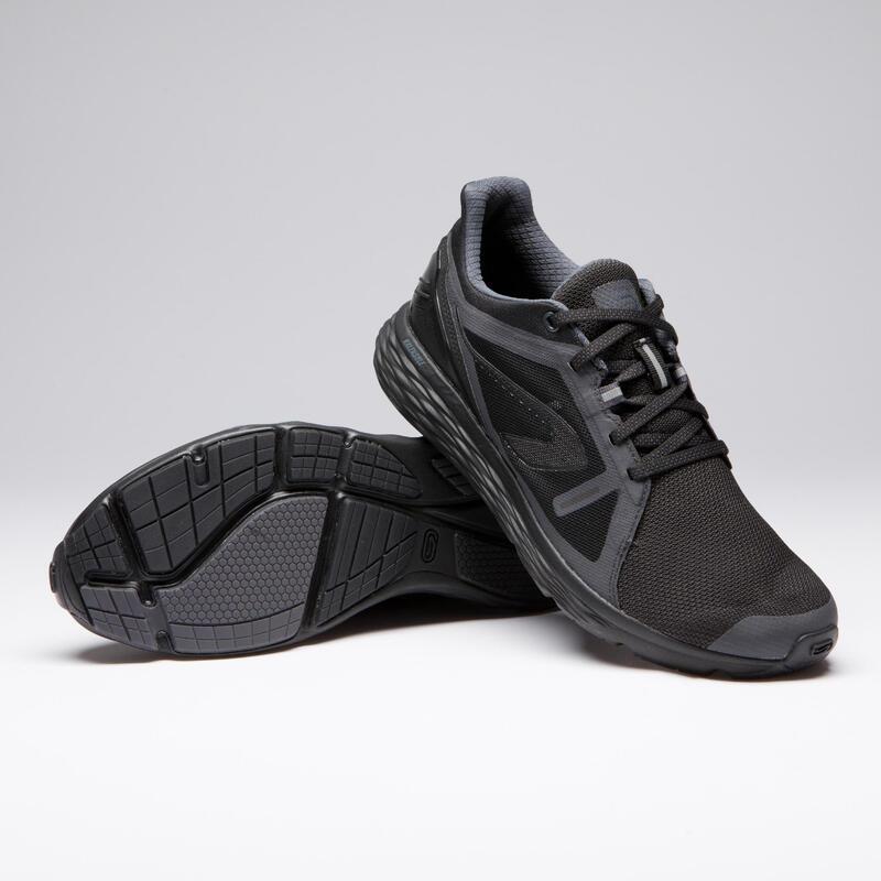 Erkek Siyah Koşu Ayakkabısı / Hafif Tempolu Koşu - RUN COMFORT