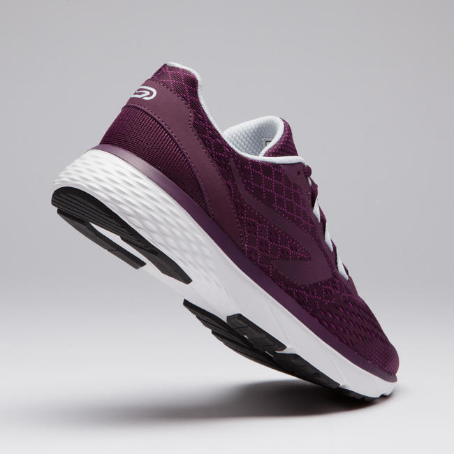 RUN SUPPORT WOMEN'S RUNNING SHOES BURGUNDY