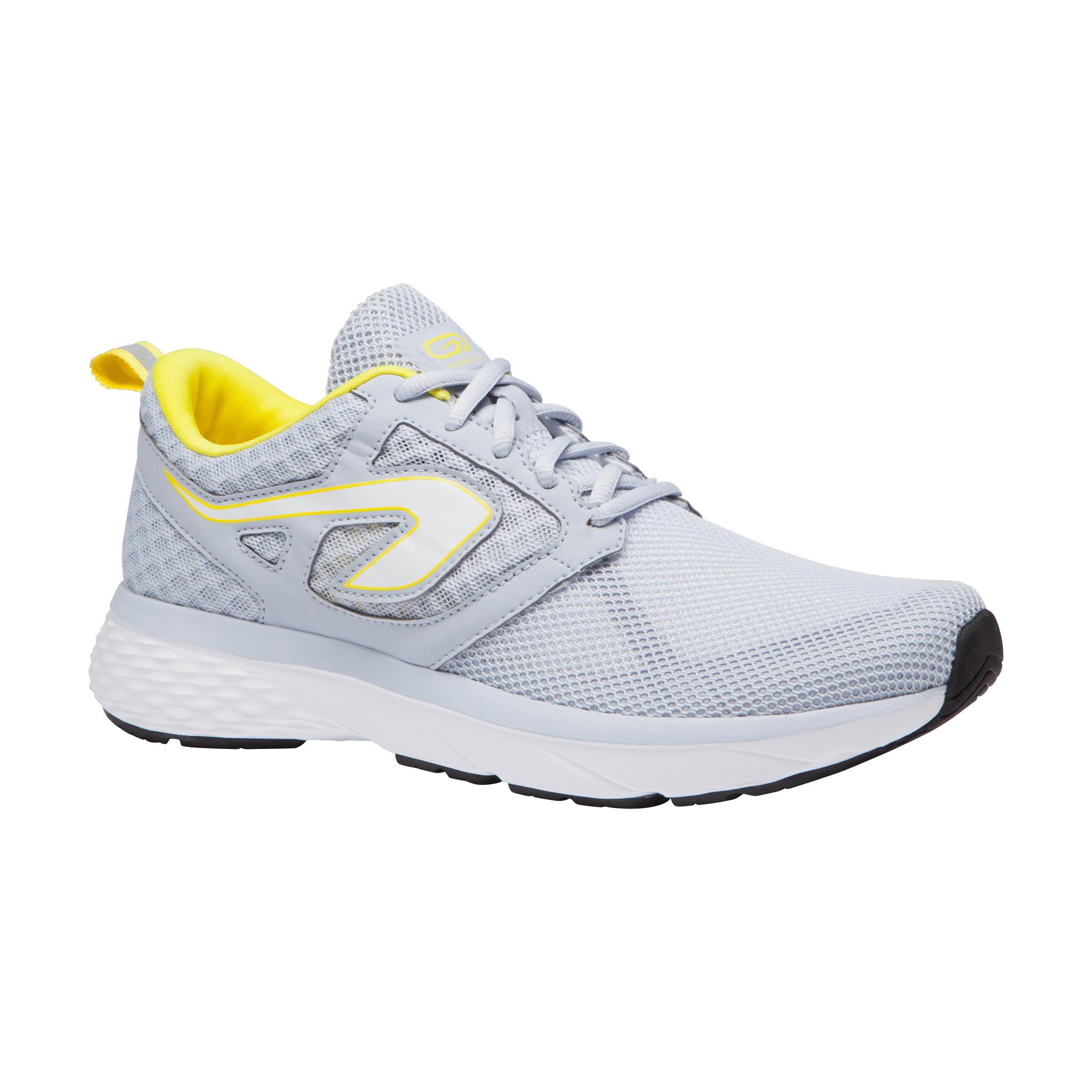 Kalenji Joggingschoenen voor dames Run Support Breathe lichtgrijs kopen
