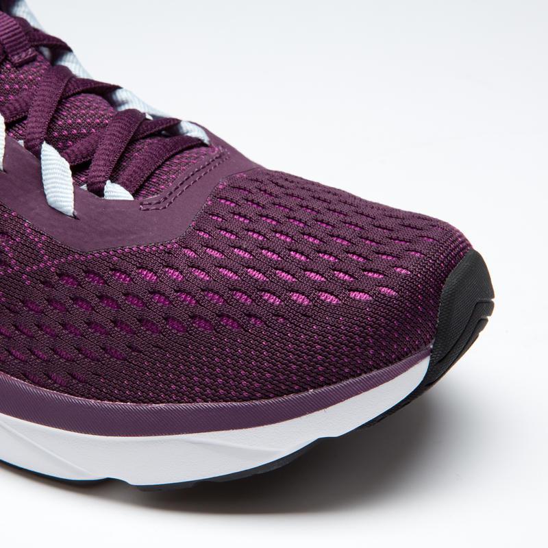 RUN SUPPORT WOMEN'S RUNNING SHOES BURGUNDY