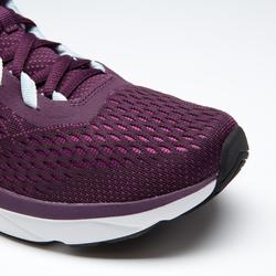 Laufschuhe Run Support Damen bordeaux