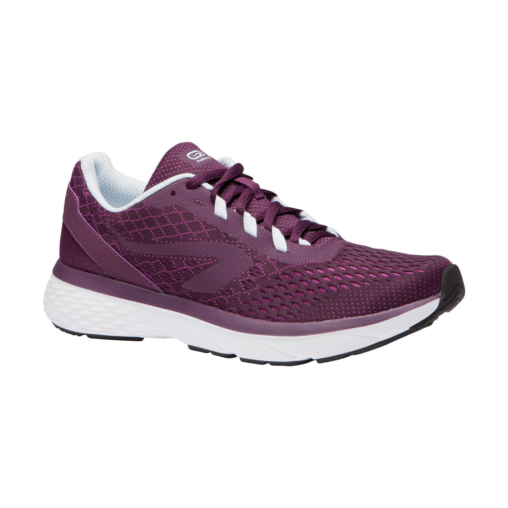 Laufschuhe Run Support Damen bordeaux