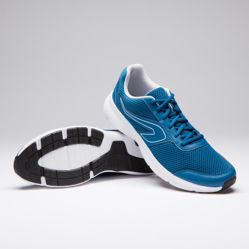 รองเท้าวิ่งสำหรับผู้ชายรุ่น RUN CUSHION (สีฟ้า PETROL)