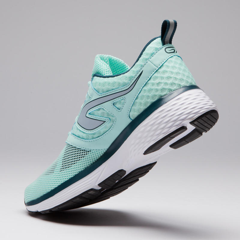 RUN SUPPORT BREATHE WOMEN'S JOGGING SHOES LIGHT GREEN