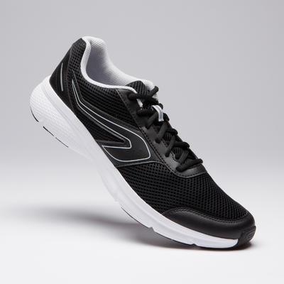 حذاء جري RUN CUSHION للرجال- أسود/رمادي