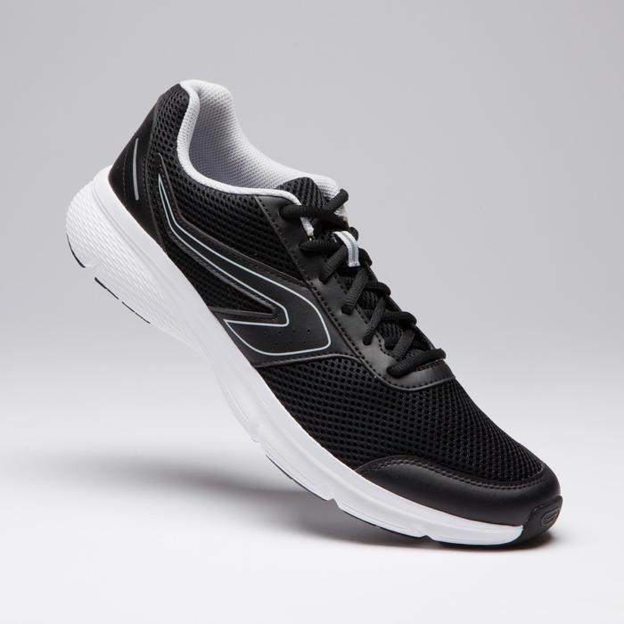 男款跑鞋RUN CUSHION - 黑色/灰色