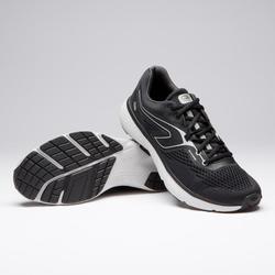 Zapatillas Running Kalenji Run Support Hombre Negro