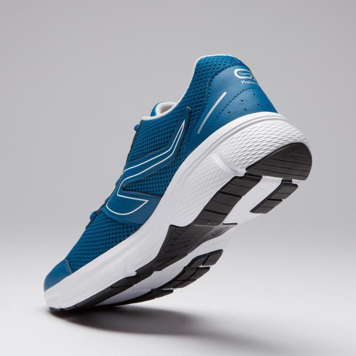 CHAUSSURE JOGGING HOMME RUN CUSHION BLEU PETROLE