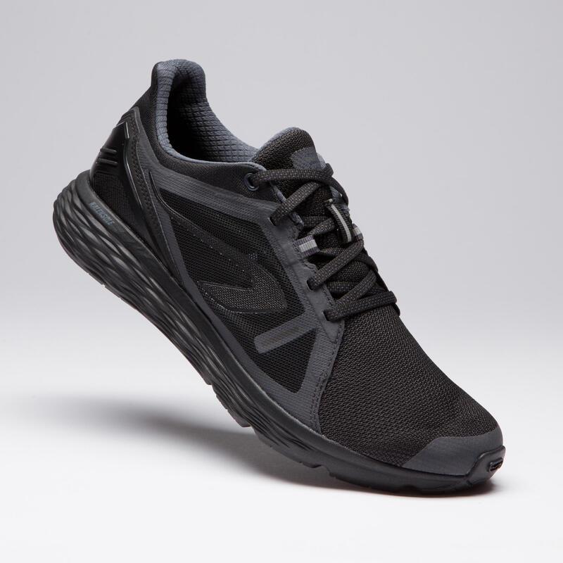 Men's Run Comfort Running Shoes- Black