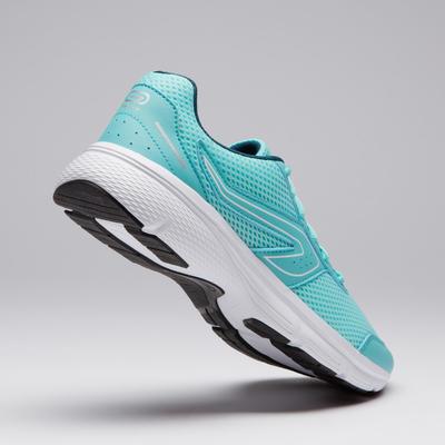 Жіночі кросівки Run Cushion для пробіжок - Світло-зелені
