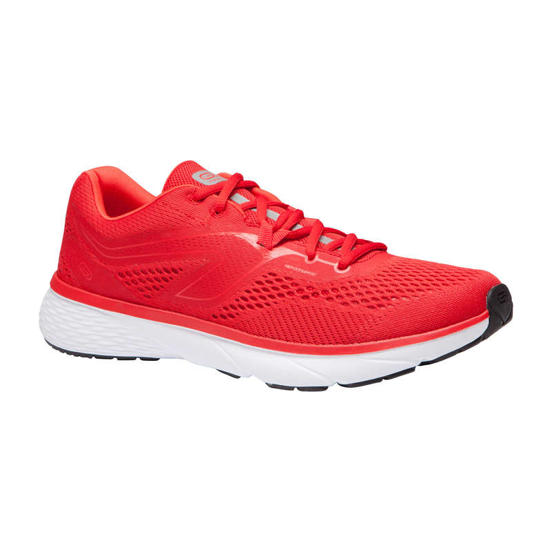 REGULAR MEN JOGGING SHOES Running - RUN SUPPORT M RED KALENJI - Running Footwear