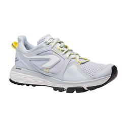女款跑鞋RUN COMFORT GRIP - 淺灰色